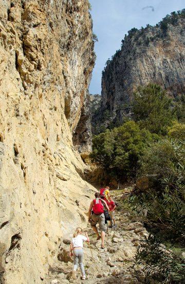 Den relativt enkle turen fra Fetiye til Alinka er også en av de vakreste delene av den totalt 509 kilometer lange Lycian Way. Foto: Torild Moland