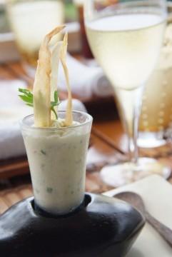 Mat og drikke smaker like bra som det ser ut. Foto: Ronny Frimann