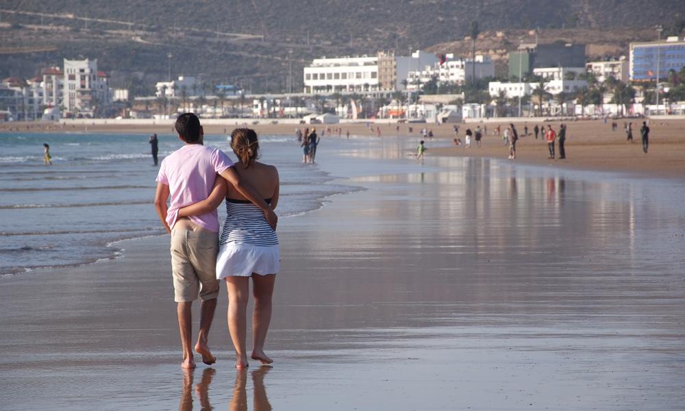 Et sjarmerende ferieparadis og et perfekt sted for en promenade på stranden. Foto: Runar Larsen