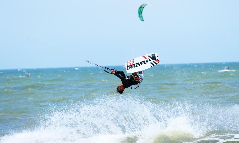 Mui Ne er et paradis for kitere og vindsurferes. Foto: Runar Larsen