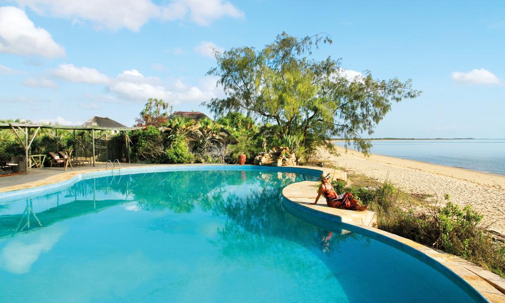 Saadani Safari Lodge er et lekkert sted uavhengig av både strand og safari. Foto: Runar Larsen