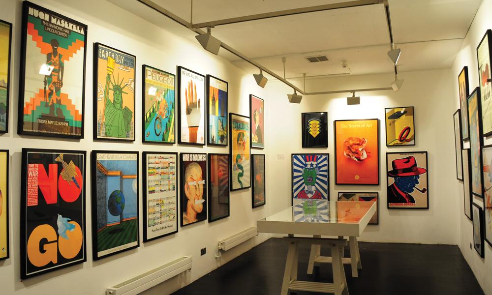 Det er mange koselige gallerier i Shoreditch. Foto: Torild Moland