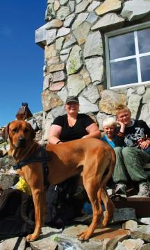 I to år har Heidi Uth Habberstad hatt som mål å komme til topps – denne gangen gikk det! Foto: Ronny Frimann