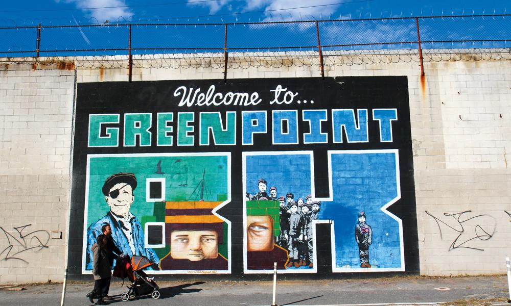 Tar du turen til Greenpoint nå, får du se bydelen før den blir allemannseie. Foto: Runar Larsen
