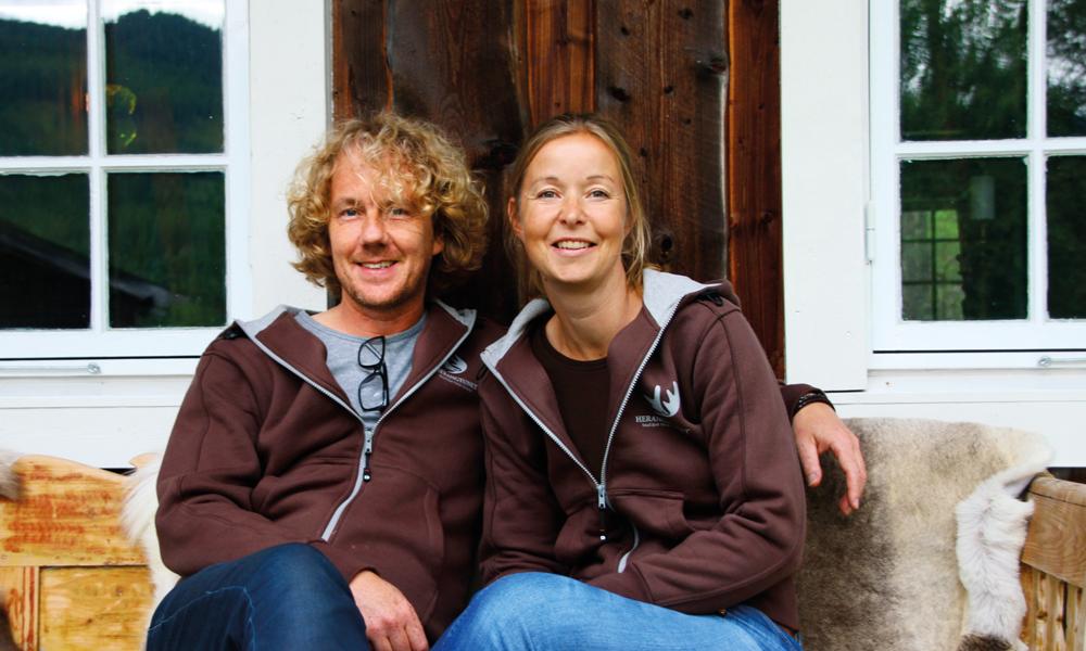 Ekteparet Marco og Marie-José Robeerts har alltid hatt et spesielt forhold til Norge og falt pladask for vakre Valdres. Foto: Kjersti Vangerud