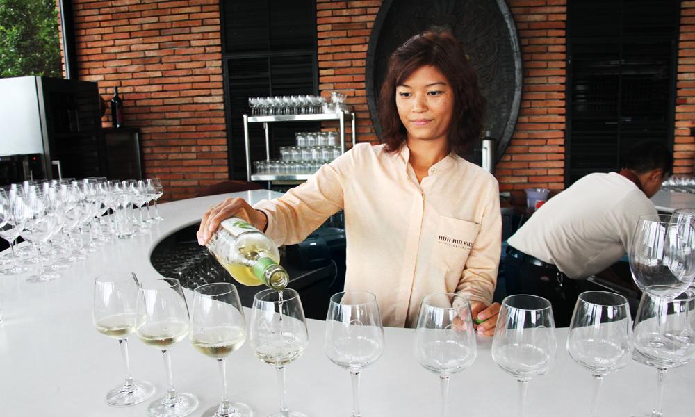 """""""New latitude wines"""" er betegnelsen på vinproduksjon på breddegrader hvor det tidligere ikke har blitt dyrket vin. Foto: Runar Larsen"""