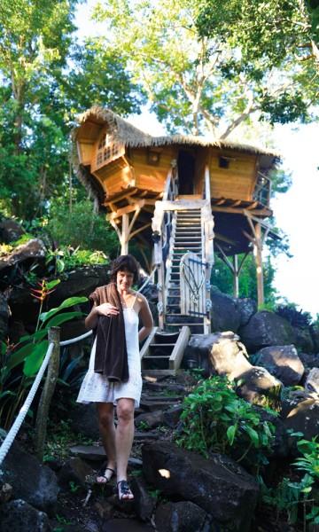 På Habitation Getz kan du virkelig unnslippe alt av stress og jag og bare nyte livet og naturen. Men havet er noen kilometer unna. Foto: Gjermund Glesnes