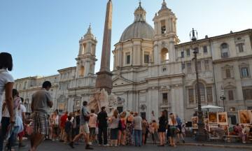 Roma er kun ett av mange stopp på verdensomseilingen. Foto: Marte Veimo