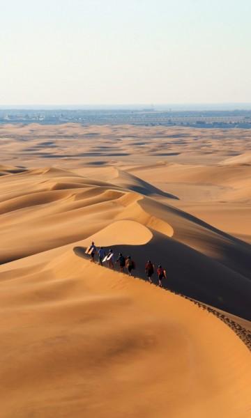 Namibørkenen er verdens nest største ørken