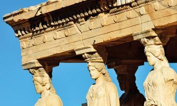 Den store tempelklippen Akropolis i Athen var sentrum for hele den greske verden. Foto: Gjermund Glesnes