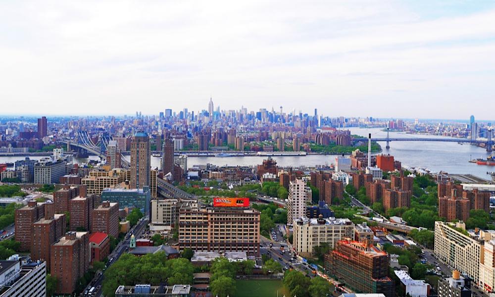 Utsikt fra Brooklyn Heights. Foto: Mette Presthagen
