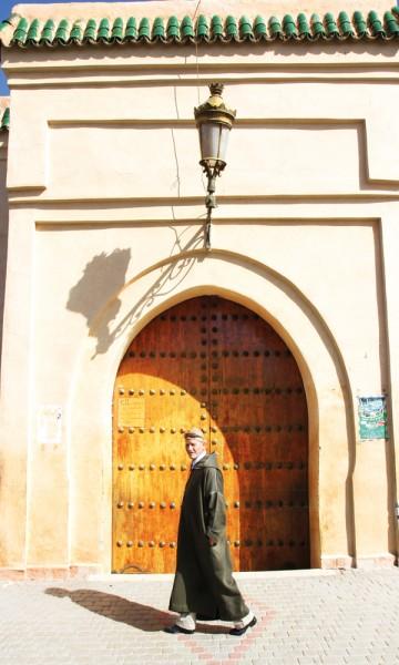 Fem ganger i døgnet hører du bønneropene fra byens mange moskeer. Foto: Runar Larsen