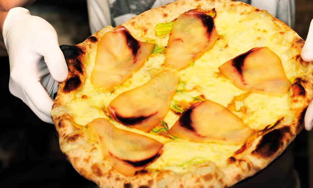 Pizzeria Dar Poeta er et funn for alle som elsker pizza. Foto: Paul Hughson