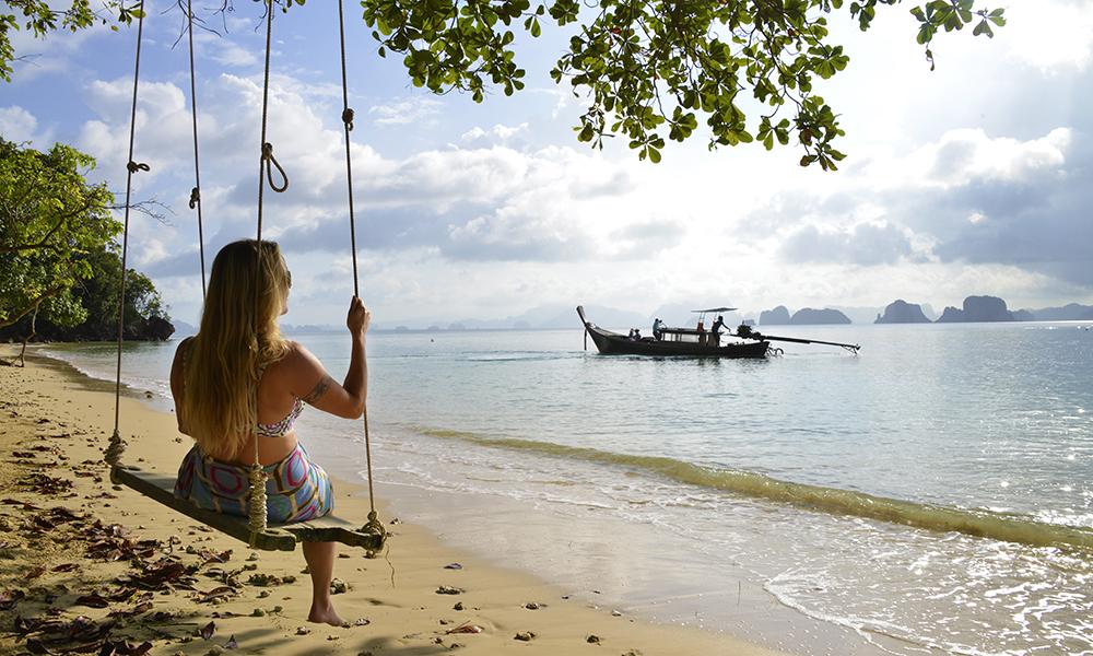 Koh Yao Noi ligger midt i Phang Nga-bukten på innsiden av Phuket, men er en hel verden unna det hektiske livet på fastlandet. Foto: Ronny Frimann