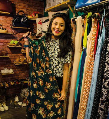 Fra hippe nisjebutikker til store kjøpesentre. Singapore har noe for et hvert klesskap. Foto: Mari Bareksten