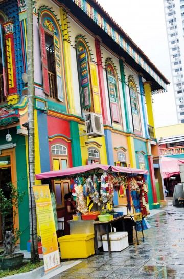 I Little India er majestetiske templer, velduftende restauranter og fargerike salgsboder. Foto: Mari Bareksten
