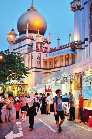 Kampong Glam er Singapores arabiske kvarter. Foto: Singapore Tourism