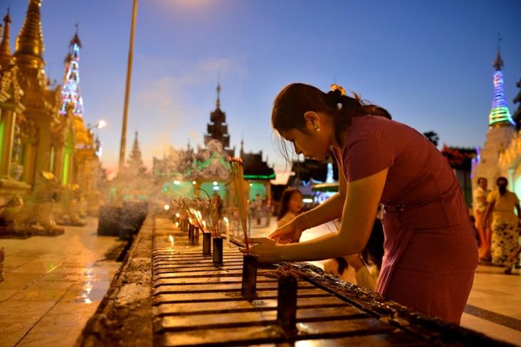 1. Shwedagon Paya, Yangon