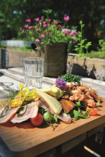 Morgenmad på Rudbecks Ost og Deli, kan Danmark bli bedre enn dette? Foto: Gjermund Glesnes