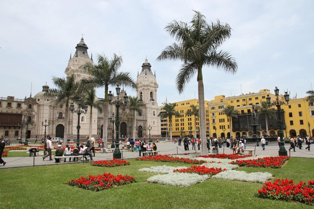 Plaza Major - i hjertet av gamlebyen.