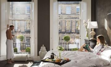Nira Caledonia stiller med så omfattende pakke at dere ikke trenger gå ut av rommet for et minneverdig opphold i Edinburgh. Foto: Nira Caledonia Hotel