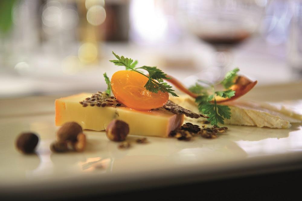 Ostetallerken i restauranten på Hotel Dagmar. Foto: Gjermund Glesnes