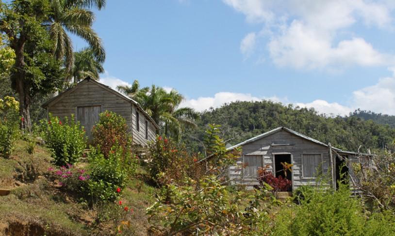Hovedkvarteret i fjellet - Pico Turquino