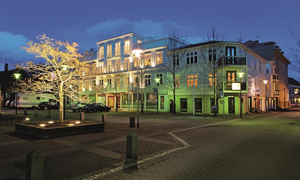 Kvosin Downtown Hotel i Reykjavik får pull pott i vår hotelltest. Foto: Kvosin Downtown Hotel