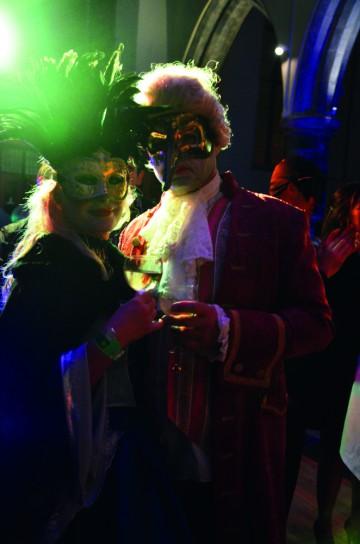 """""""Gala Mardi Gras"""" på lørdags kveld er festivalens stiligste happening. Foto: Marte Veimo"""