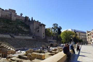 Det romerske teateret i Málaga ligger like under den mauriske borgfestningen Alkazaba,. Foto: Gjermund Glesnes