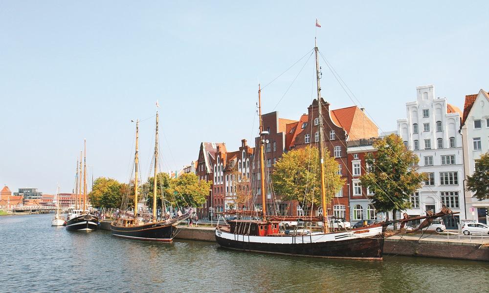 Historiske Lübeck er den vakreste byen i Nord-Tyskland. Foto: Runar Larsen