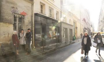 Marais er en bydel hvor de store gleder ligger i små ting. Her skjuler mange av fasadene herlige hemmeligheter. Foto: Torild Moland