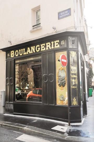 Marais byr på det lille og tilgjengelige Paris fra en svunnen tid, og bakeren er et selvfølgelig stopp. Foto: Torild Moland