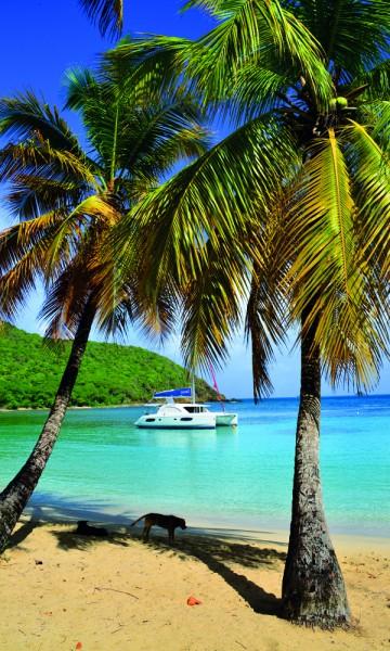 Salt Whistle Bay på Mayreau er en av de vakreste ankringsplassene i hele Karibia, bare slått av neste stopp: Tobago Cays. Foto: Ronny Frimann