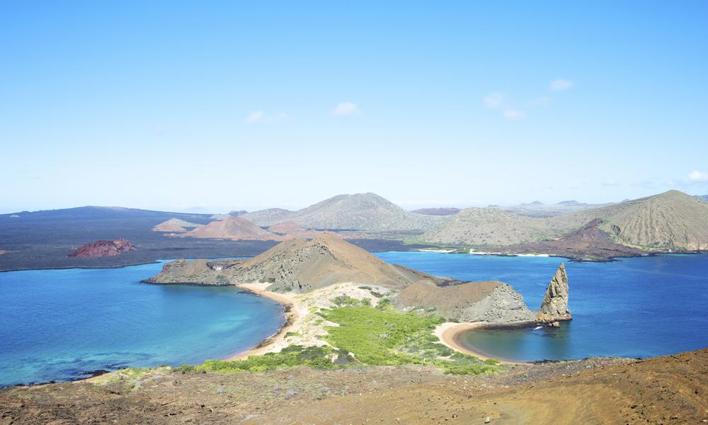 Galápagosøyene sees best med båt, som tar deg med til en av verdens utposter. Foto: iStock