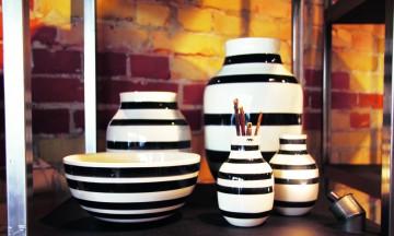 De stilrene keramikkproduktene til Kähler har de siste årene tatt Skandinavia med storm. Designmerkets flaggskip finner vi i M.P. Bruumsgade. Foto: Kjersti Vangerud