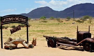 En tur i Namibia byr på mange ulike inntrykk. Foto: Hans Thomas Holm