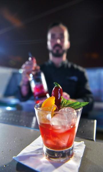 Roséportvin er det nyeste påfunnet til portvinprodusentene. Og den passer godt til en cocktail. Foto: Gjermund Glesnes