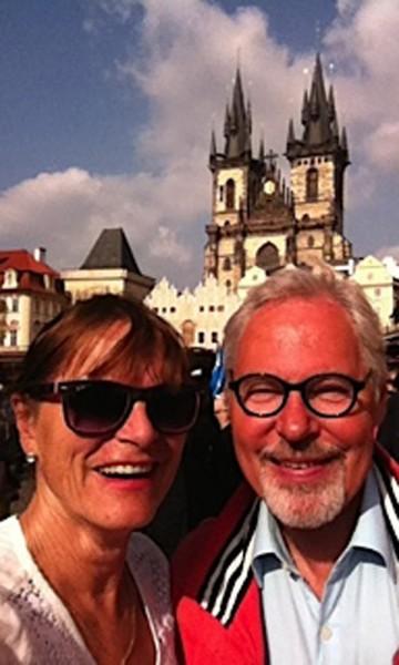 Pia Walker og mannen Hans-Christian Bøhler gleder seg stort til å oppleve det Marokko har å by på. Foto: Privat