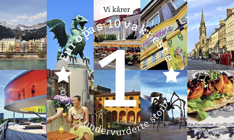 Topp 10 storbyer i Europa