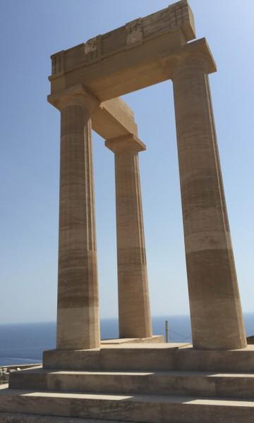 Lindos' akropolis. Foto: Henriette Gran Myreng