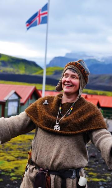 Island og alt det bærer med seg – det er Heida Meldals verden. Foto: Gjermund Glesnes