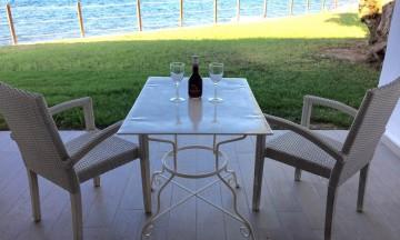 Utsikt fra bungalowen vår. Foto: Henriette Gran Myreng