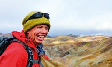Svavar Helgi Olafsson har alltid smilet parat. Foto: Gjermund Glesnes