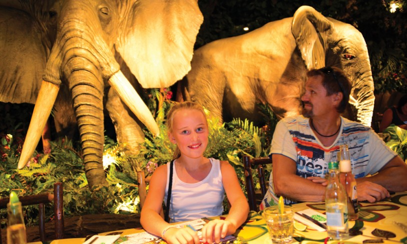 10. Rainforest Café