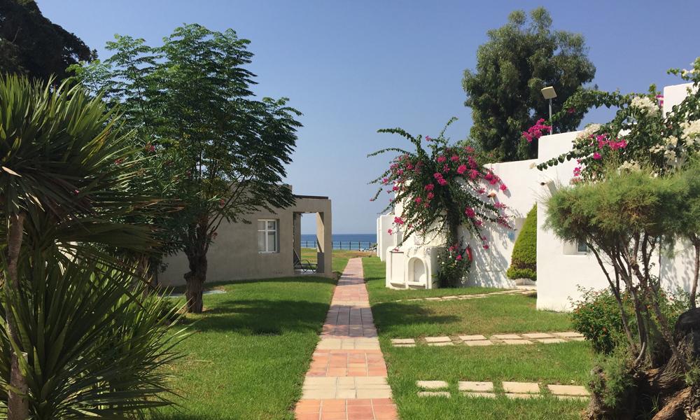 Sunprime Miramare Beach: Et hotellområdet å bli glad i. Foto: Henriette Gran Myreng