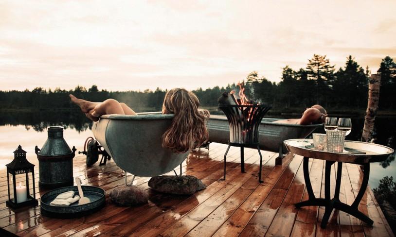 3. Glamorøs camping - Telemark