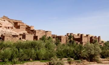 Byen Ait-Benhadou er oppført på Unescos verdensarvilste. Det er som å reise nesten 1000 år tilbake i tid. Foto: Hans-Christian Bøhler