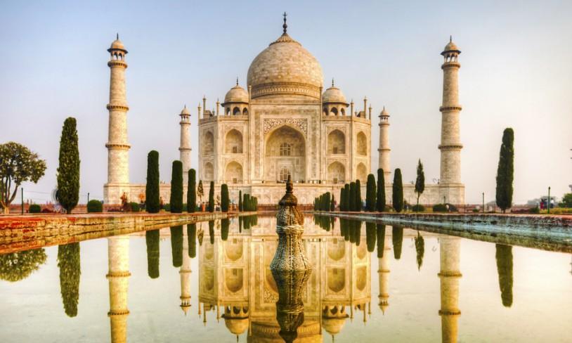 8. Kjærlighetens tempel - Taj Mahal, India