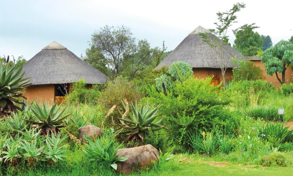 Etter mange timers vandring, venter ro og avslappende omgivelser på Inkosana Lodge. Foto: Kjersti Vangerud